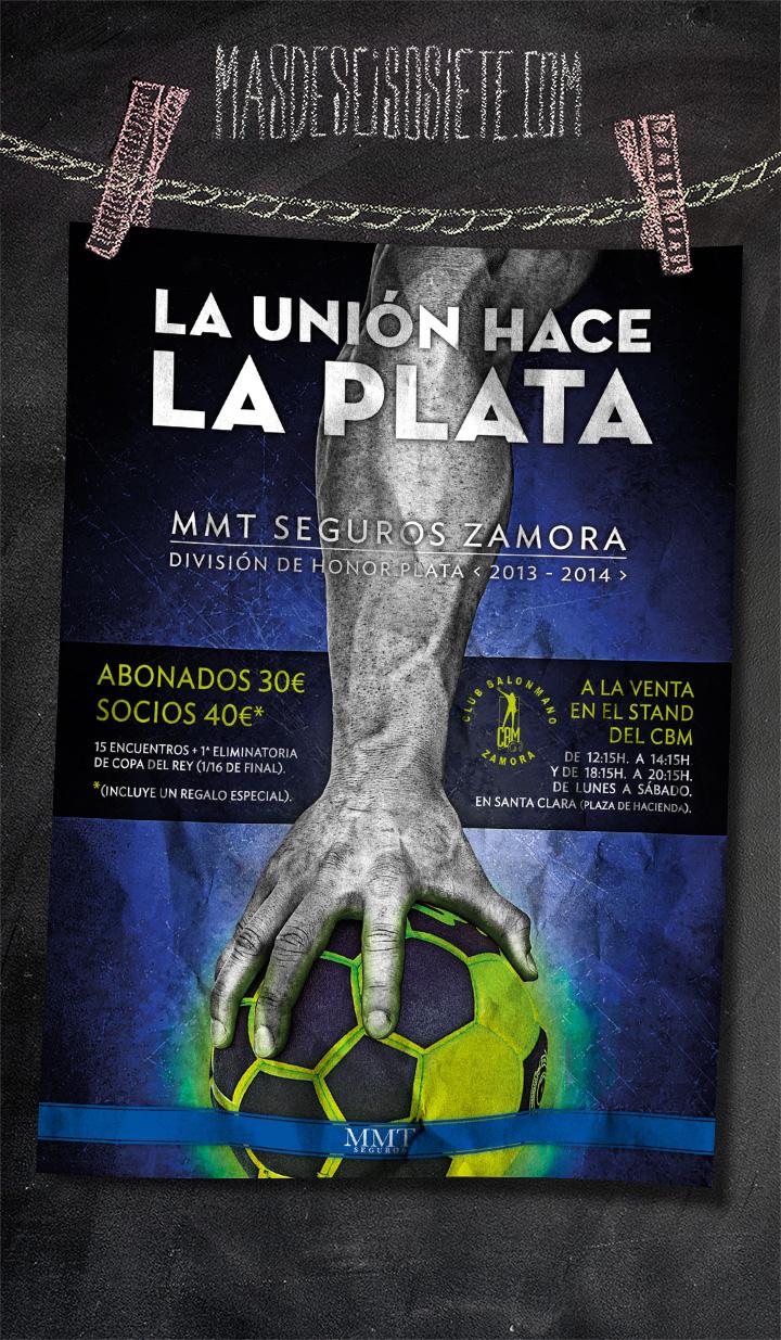 Balonmano Zamora CBM-cartel